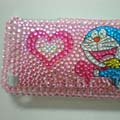 Crystal Diamond Rhinestone Cover Case for Apple iPhone 3G 3GS-Doraemon