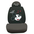 Mickey Mouse universal Car Seat Covers sets - black EB011