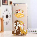 TPU Cover Disney Dale Silicone Case Minnie for iPhone 7 Plus 5.5 - Transparent