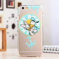 TPU Cover Disney Donald Duck Silicone Case Minnie for iPhone 7 Plus 5.5 - Transparent
