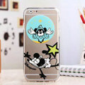 TPU Cover Disney Mickey Mouse Silicone Case Shell for iPhone 6S Plus 5.5 - Transparent